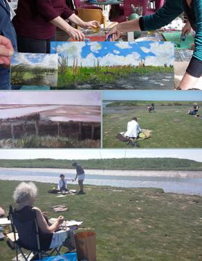 Workshop Panorama Schilderen - 11 augustus door Anja Lofvers