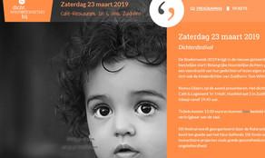 Meindert Talma & Jane Leusink zijn sprekers op het Dichtersfestival in Zuidhorn - zaterdag 23 ma
