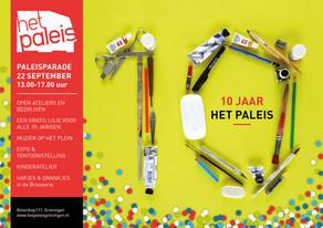 PaleisParade #4 - jaarlijkse open dag 22 september in Het Paleis