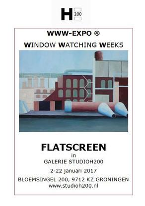 Window Watching Weeks Flatscreen 2 - 22 januari Galerie StudioH200