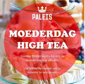 Afhaal Moederdag High Tea bij PaleisBrasserie