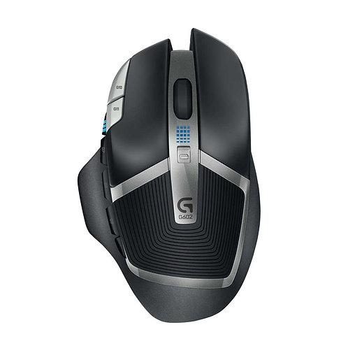 Logitech G G602 Wireless Optical Gaming Mouse - Black