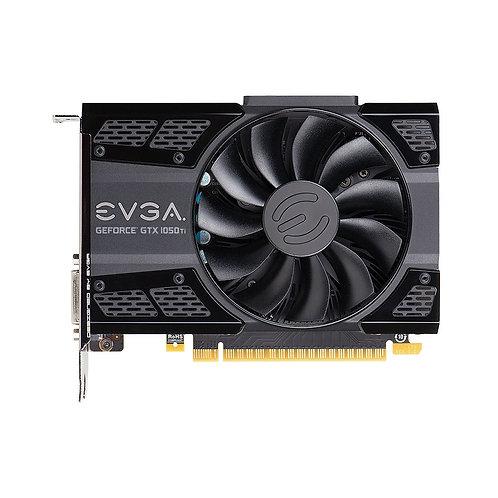 EVGA GeForce GTX 1050 Ti Gaming Single-Fan 4GB GDDR5 PCIe Video Card