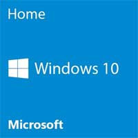 Microsoft Windows 10 Home 64-bit OEM DVD - English