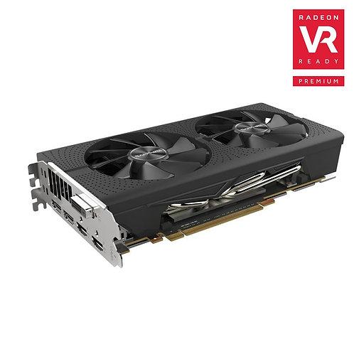 Sapphire Technology Pulse Radeon RX-580 Overclocked Dual-Fan 4GB GDDR5 PCIe VGA
