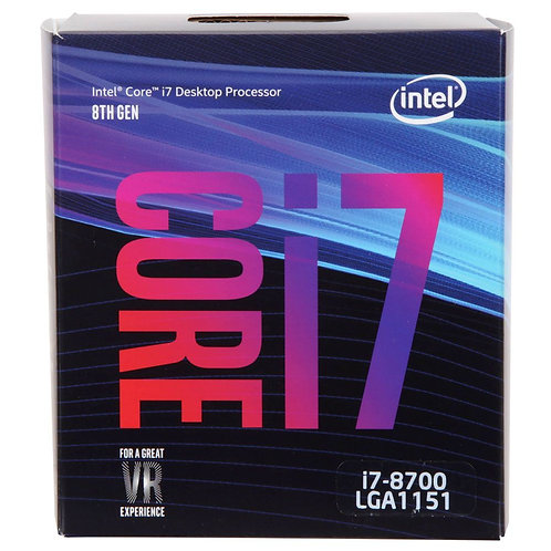 Intel Core i7-8700 Coffee Lake 3.2 GHz LGA 1151 Boxed Processor