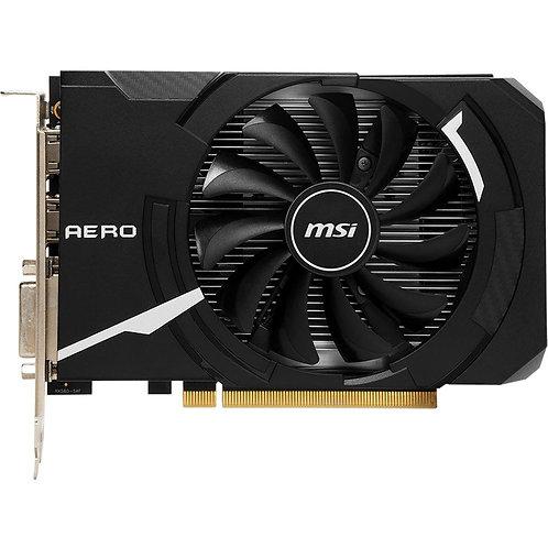 MSI Aero ITX Radeon RX-560 Overclocked Single-Fan 4G GDDR5 PCIe Video Card
