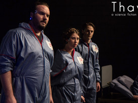 Dean Lovatt as James, Nicola Brescianini as Paula, Aaron Vanderklay as Matt