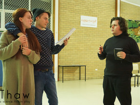 Thaw 2015 - Anna Weir, Aaron Vanderklay, & Director Stephen B. Platt