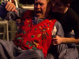 Ron Arthurs as John and Aaron Vanderklay as Matt