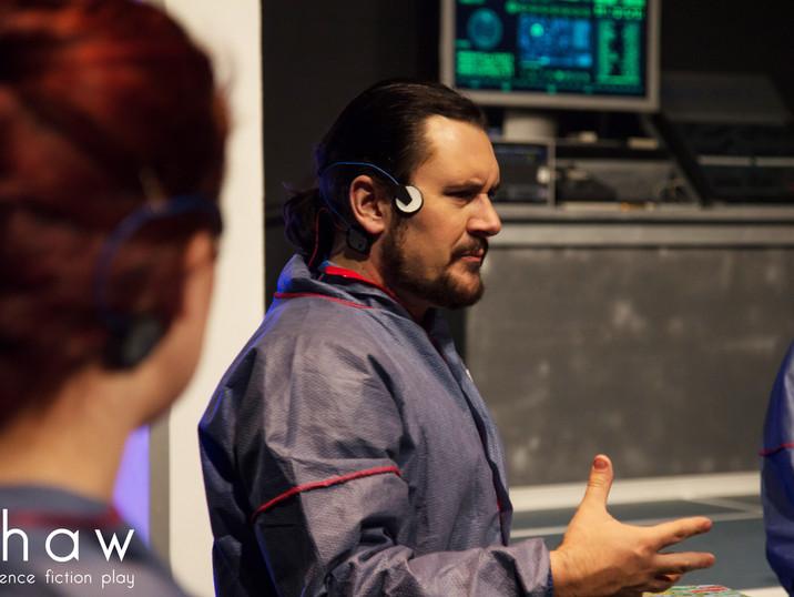Jason Dohle as Dr. Ettinger