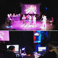 Tech rehearsals for episode 3