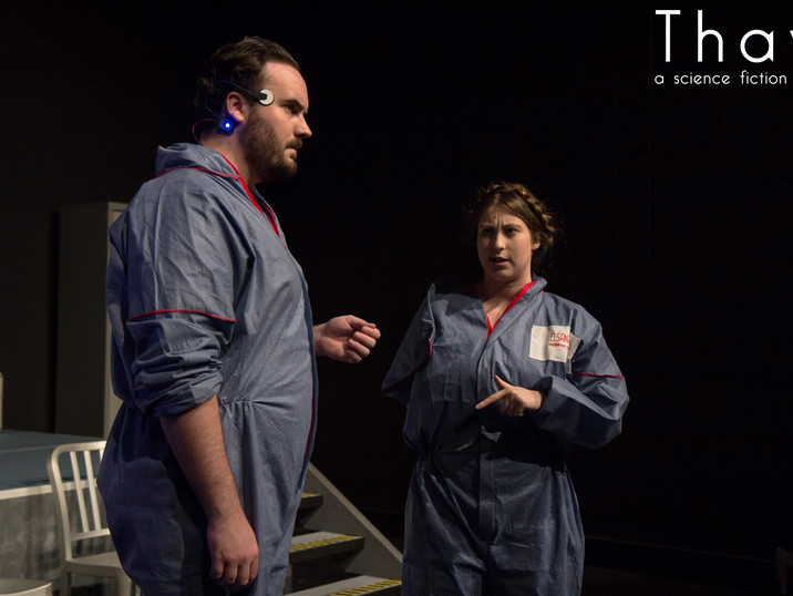 Dean Lovatt as James and Nicola Brecianini as Paula