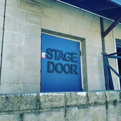 Nexus Theatre stage door