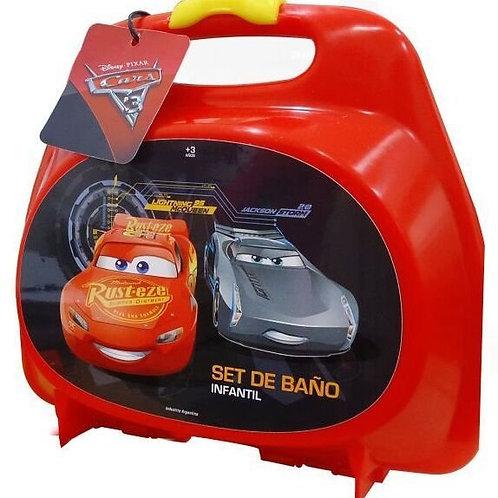 Valija set de baño Cars art.97563