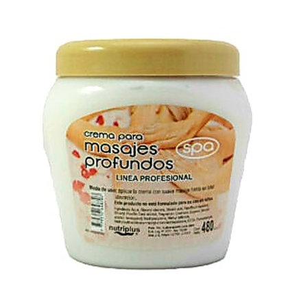 Crema para masajes x 480 grs.