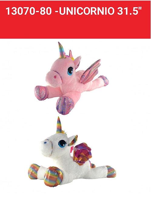Peluche unicornio grande art.13070/80