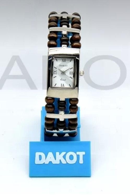 Reloj Brazalete madera DA187w