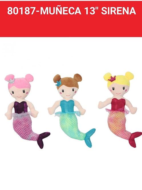 Muñeca Sirena art.80187