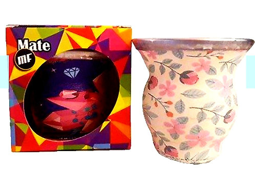 Mate vidrio c/caja art.921