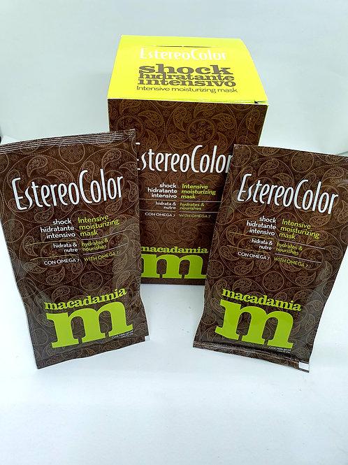 Estereo color Shock hidratante intensivo x 10 unid.