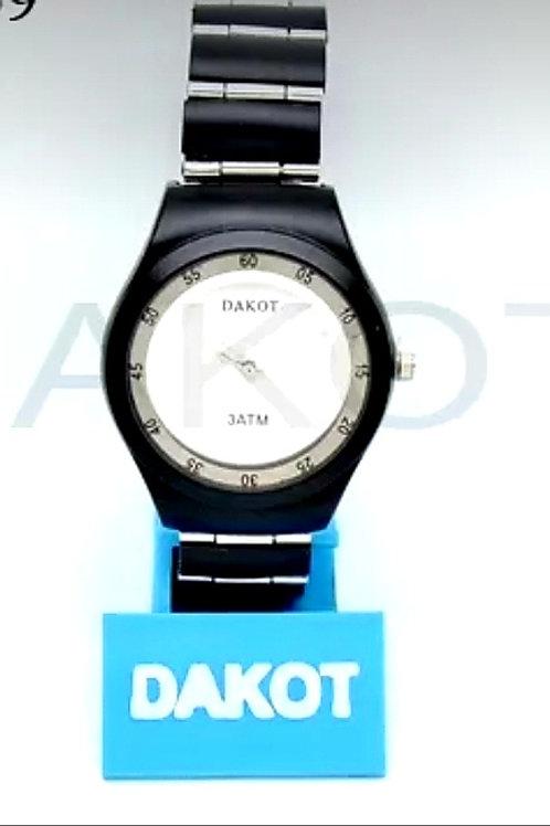 Reloj metal 3atm art.DA559