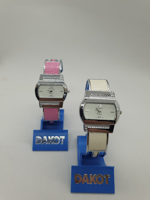 Reloj Dakot Brazalete art.187 N