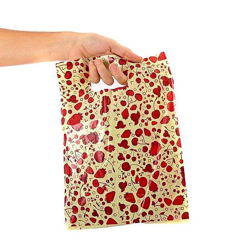 Bolsas regalos plásticas x 50 unid.( 35x45 cm )art.1546