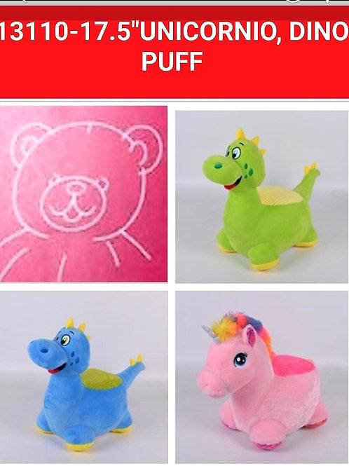 Peluche puff art.13110
