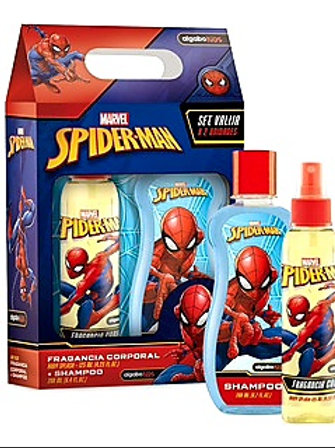 Set regalo colonia x 125cc. + shampoo x 200 cc.Spiderman