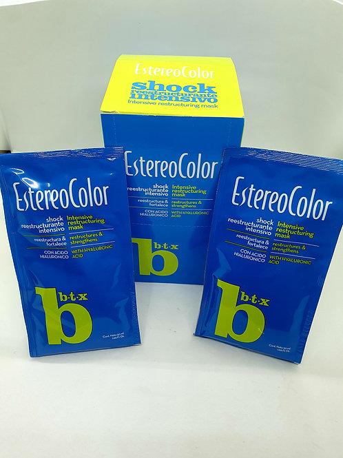 Estereo color Shock restructurante intensivo x 10 unid.