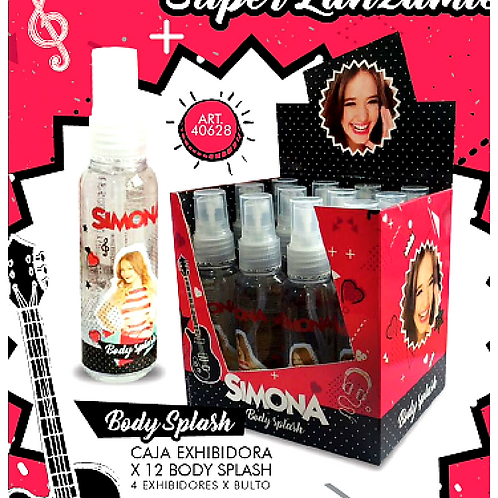 Perfume Body Simona x 12 unid art.40628