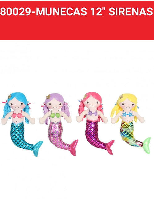 Muñeca sirena art.80029