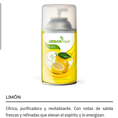 Aromatizante de ambiente Urban Fresh x 270 ml.
