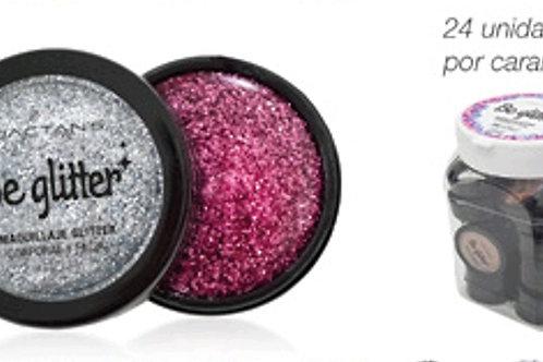 Maquillaje Gliter x 24 unid OFERTA 50 % venc.6/21