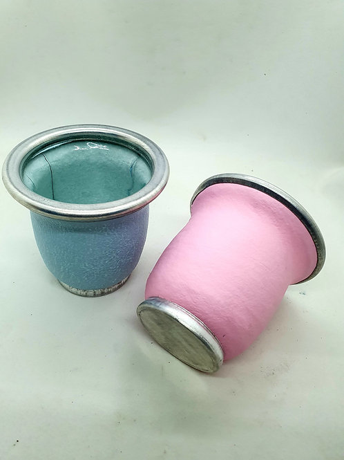 Mate vidrio color art.52