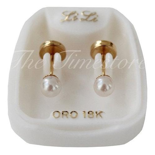 Abridor oro perla mediana tic laminado art.111