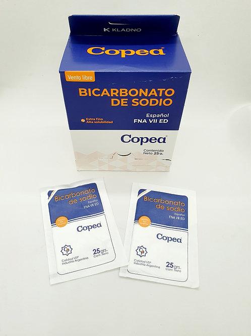 Bicarbonato de Sodio x 25 grs x 25  sobres