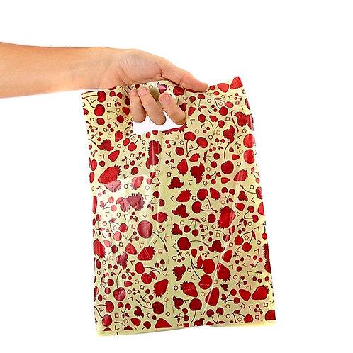 Bolsas regalos plásticas x 50 unid.( 30 x 40 cm ) art.1545
