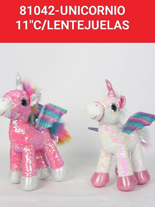 Peluche unicornio art.81042