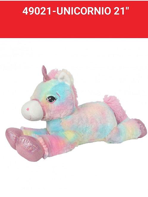 Peluche unicornio art.49021