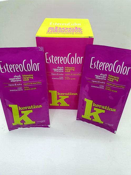 Estereo color Shock reparador intensivo x 10 unid.