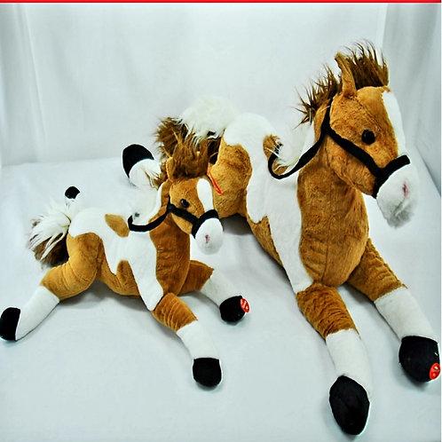 Peluche caballo c/sonido art.25098