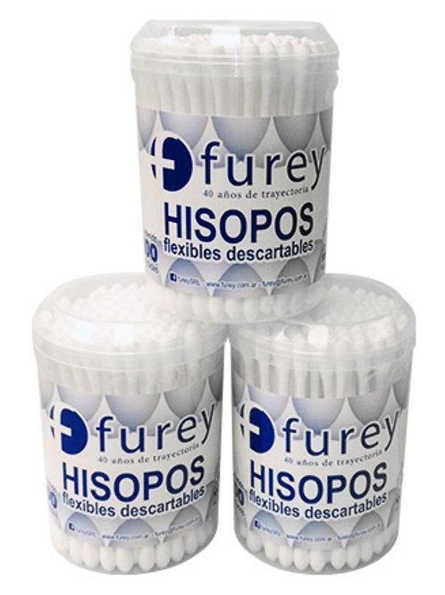 Hisopos Furey x 100 unid.x 12