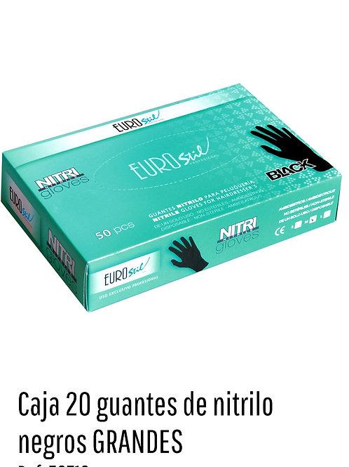 Guantes de Nitrilo Reforzados Grandes x 20 unid.art.53711