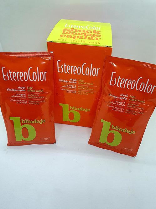 Estereo color Shock blindaje capilar x 10 unid.