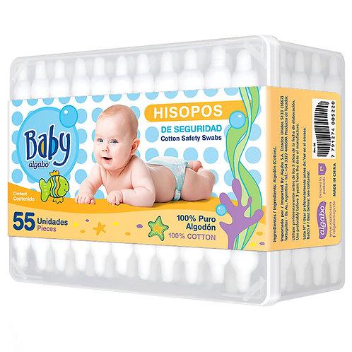 Hisopo Algabo Baby x 55 unid.