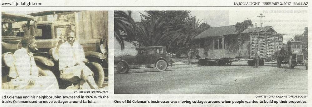Black History in La Jolla CA
