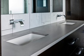 "Caesarstone ""Sleek Concrete"" Quartz"
