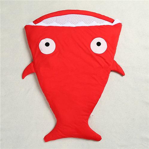 Saco de Dormir Tubarão Vermelho